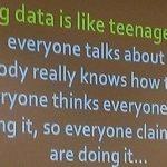 Afbeelding gebaseerd op Big Data is like Teenage Sex... van Gilad Lotan (licentie: CC BY-NC 2.0)