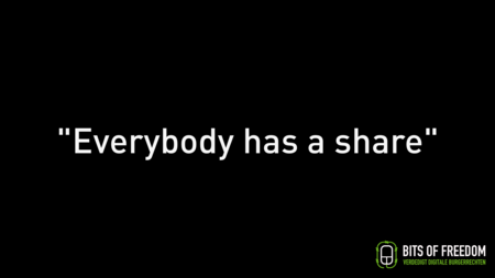 Everybody has a share