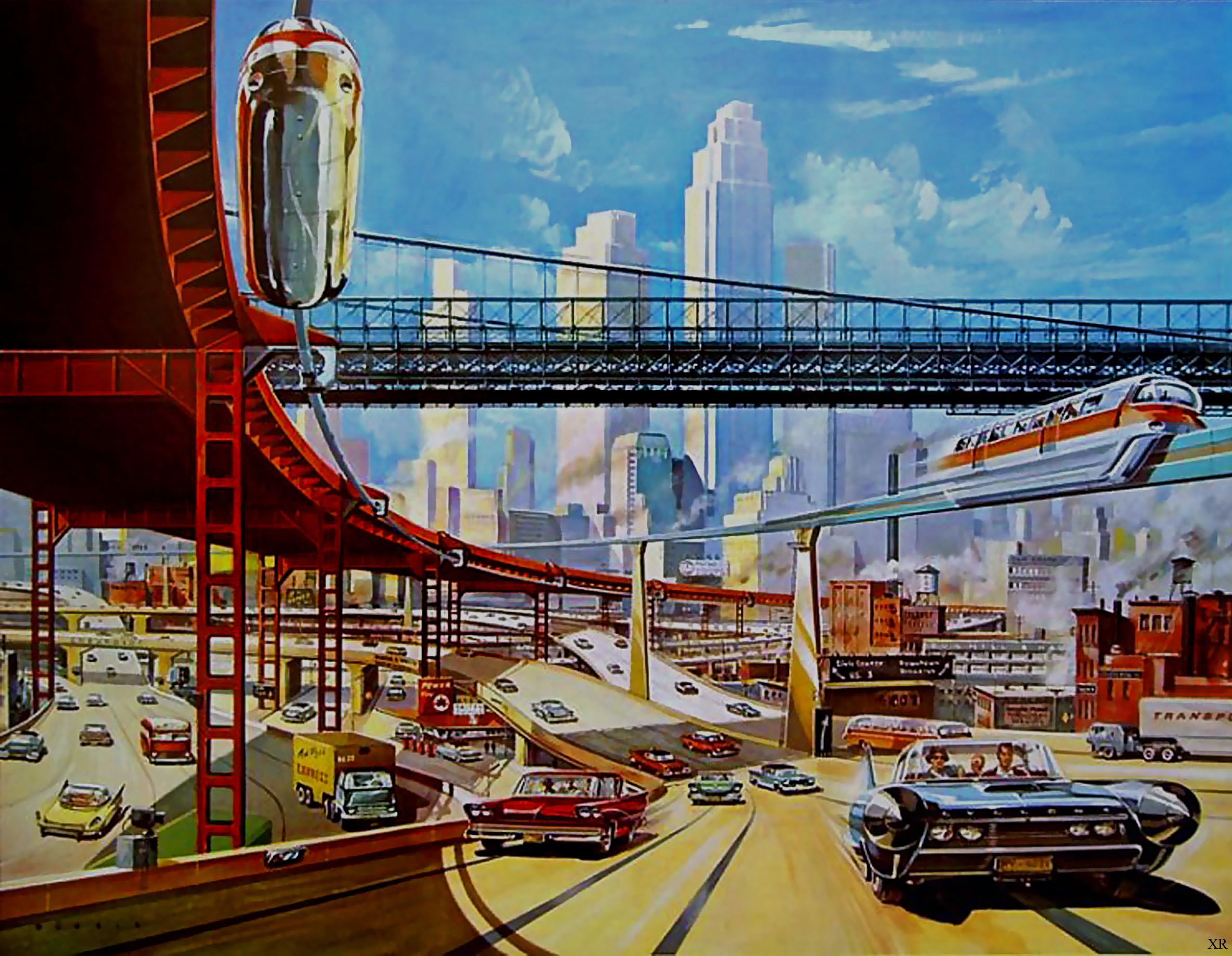 Zoals ze in de jaren 50 de toekomst zagen