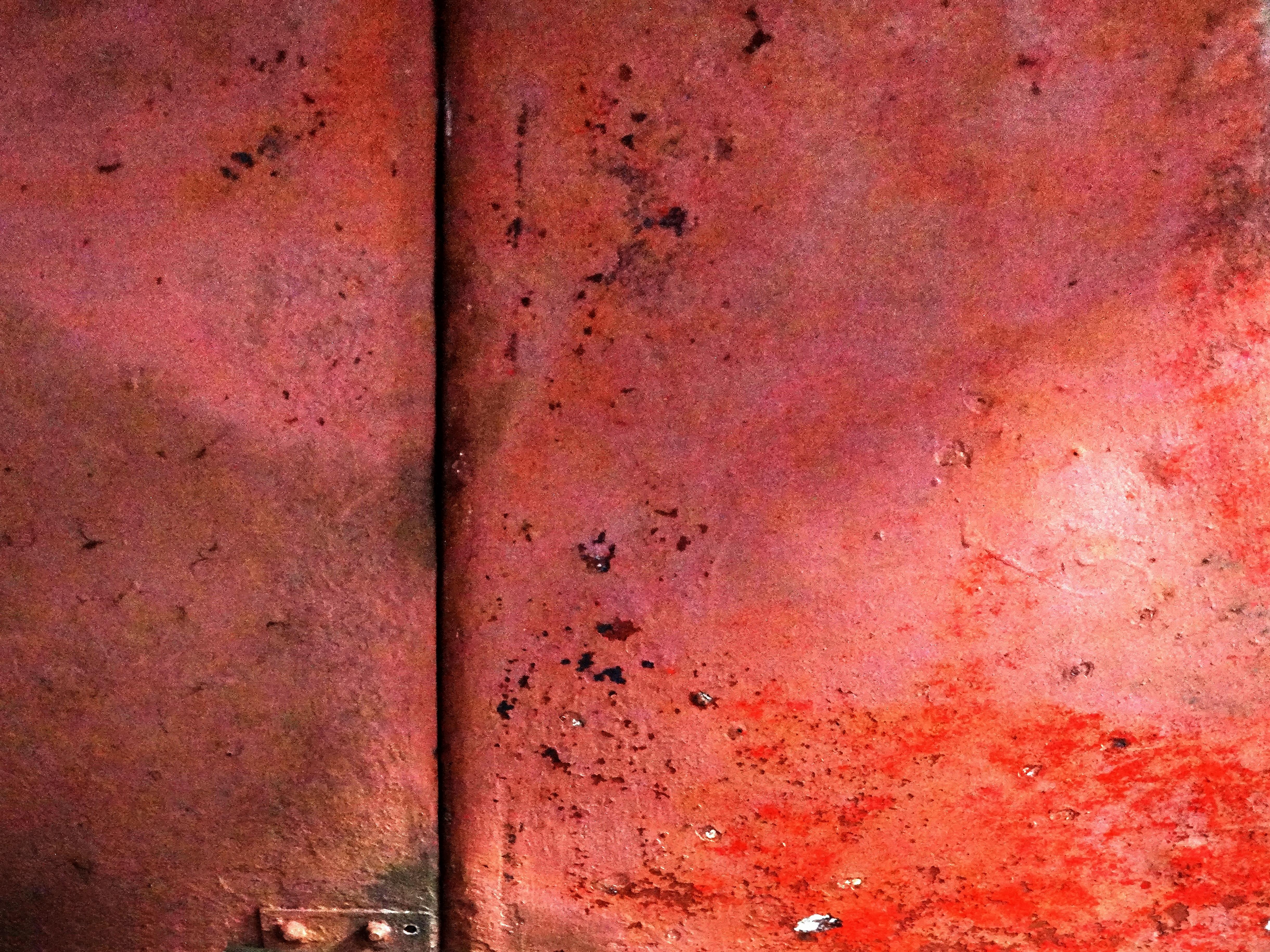 Een abstracte roze muur