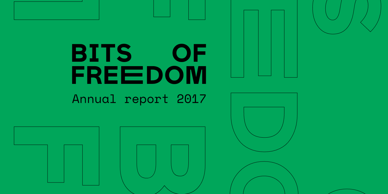 Front page of the annual report