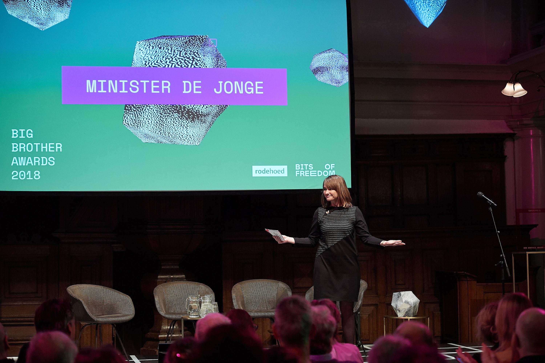 Linda Vermeulen zonder Hugo de Jonge. Foto: Jeroen Mooijman (CC BY-NC-ND 4.0)
