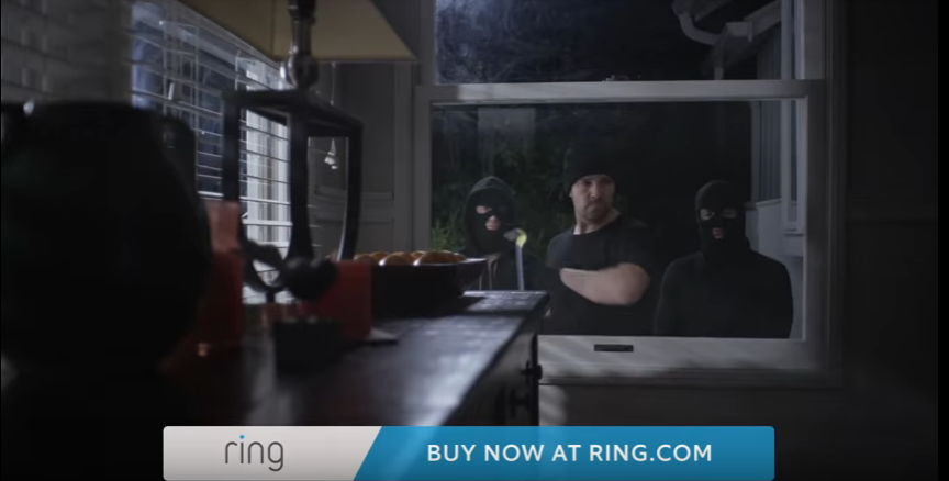 Screenshot commercial Ring