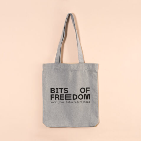 foto van Bits of Freedom tas
