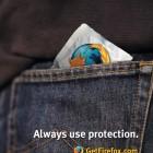 Afbeelding gebaseerd op Always Use Protection - Get Firefox van Michael Heilemann (licentie: CC BY-NC-ND 2.0)