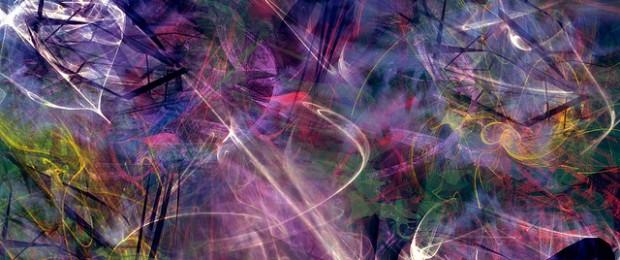 Afbeelding gebaseerd op Abstract Colorful Universe Wallpaper - TTdesign van Tom  (licentie: CC BY 2.0)