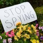Afbeelding gebaseerd op Code Pink NSA protest at Sen Dianne Feinstein's house van Steve Rhodes (licentie: CC BY-NC-ND 2.0)
