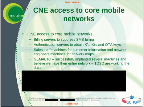 The Intercept - CNE Access to Core Mobile Networks