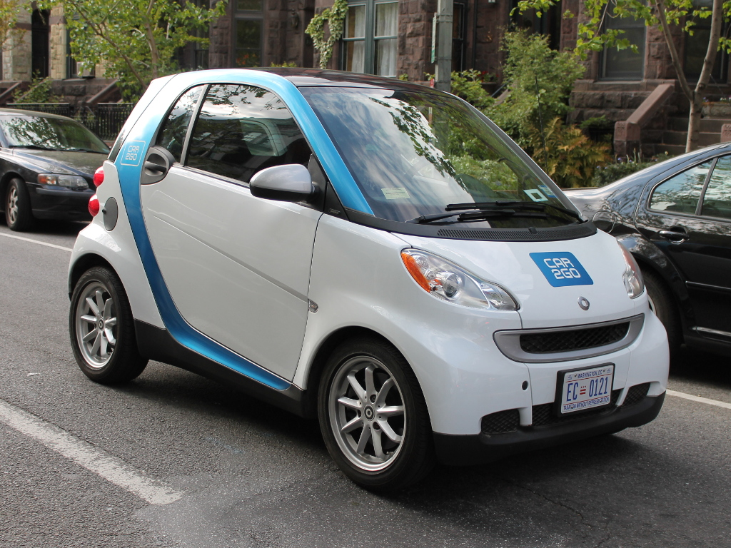 Car2Go, Elvert Barnes, CC-licensed