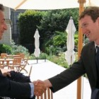 Afbeelding\'Mark Zuckerberg elysee france Nicolas Sarkozy e-G8\'van Admond onder Attribution 2.0 Generic licentie