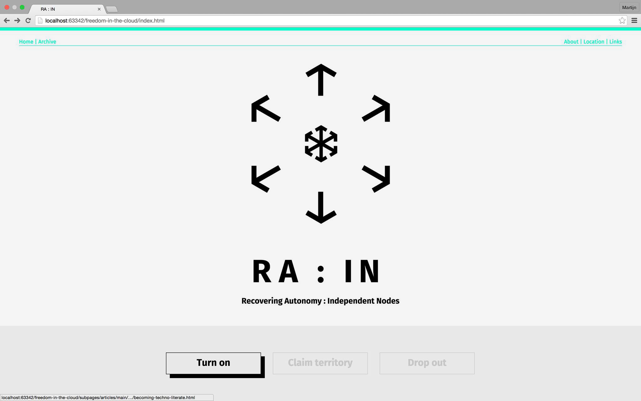 RA:IN: Crypto Design project