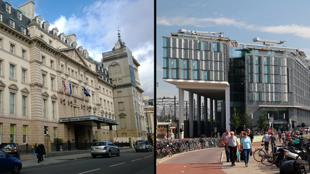 Hilton Paddington in London and Hilton Doubletree in Amsterdam